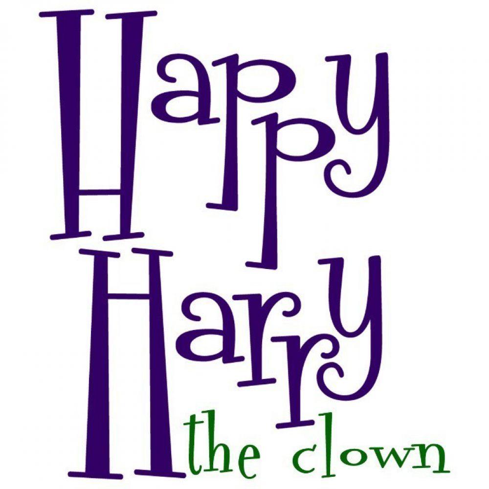 Happy Harry the clown